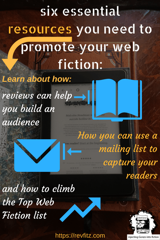 Six resources you need to promote your web fiction
