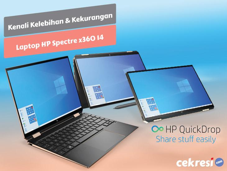 Rilis Tahun Ini, Kenali Kelebihan dan Kekurangan Laptop HP Spectre x360 14
