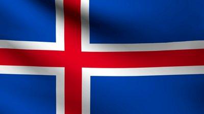 stock-footage-iceland-flag
