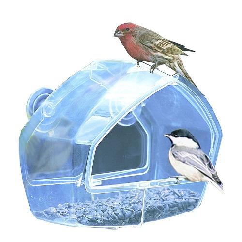 Birdscapes Clear Window Feeder.