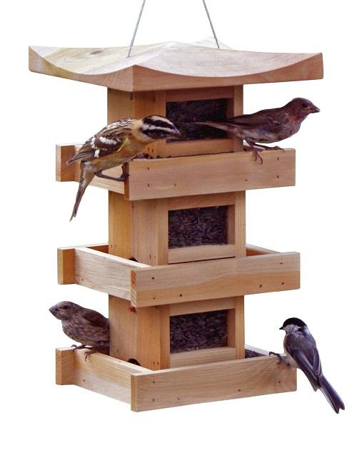 Naturalyards Pagoda Bird Feeder
