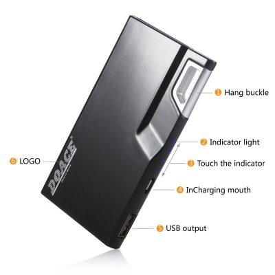 DOACE 3000mAh Brilliant Ultra Slim Dual USB