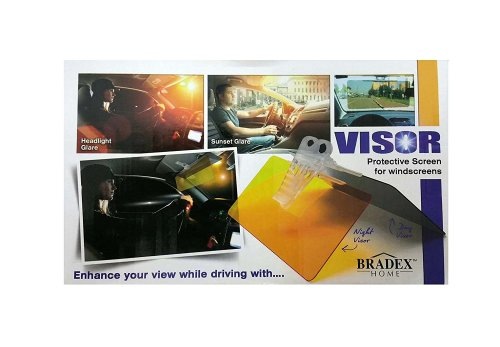 Bradex Day&night HD Clear Visor Protective Screen for Windscreens