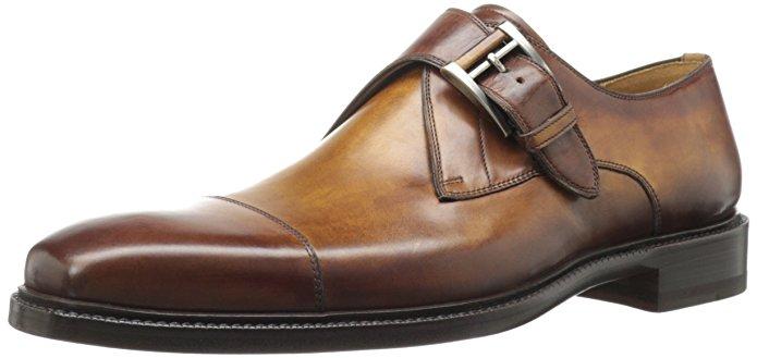 Magnanni Men's Nino Dress Shoe,Tabaco,12 M US