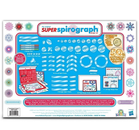 75-Piece Super Spirograph Jumbo Kit