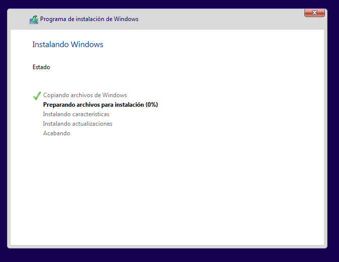 Instalando Windows