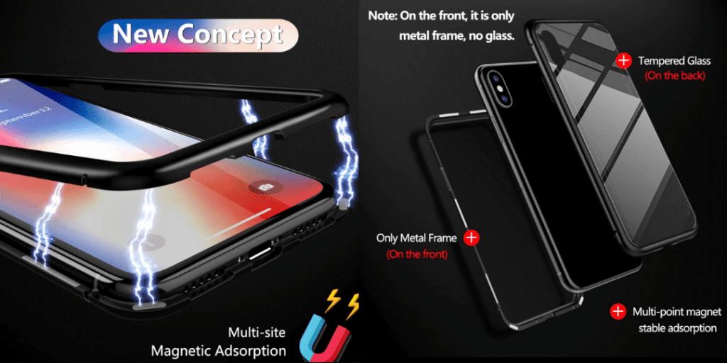 7. GETIHU Metal Magnetic Case For iPhone-Best Sellers Aliexpress