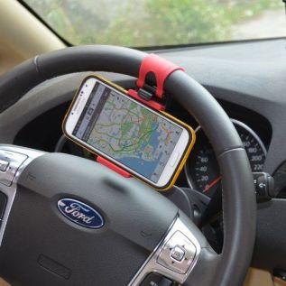 30. Car Steering Mounted Mobile holder - Souq.com under 50 SAR