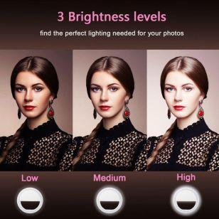 36. LED Selfie Ring - Souq.com under 50 SAR