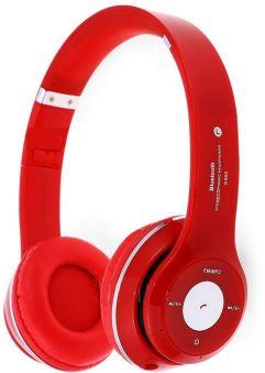 60. Bluetooth Headphone Red - Souq.com under 50 SAR