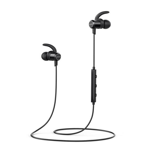 10. Anker SoundBuds Slim Wireless Headphones - Best In-Ear Earphones-in-Ear Headphone-Best sports Headphones and sports Earphones on AliExpress
