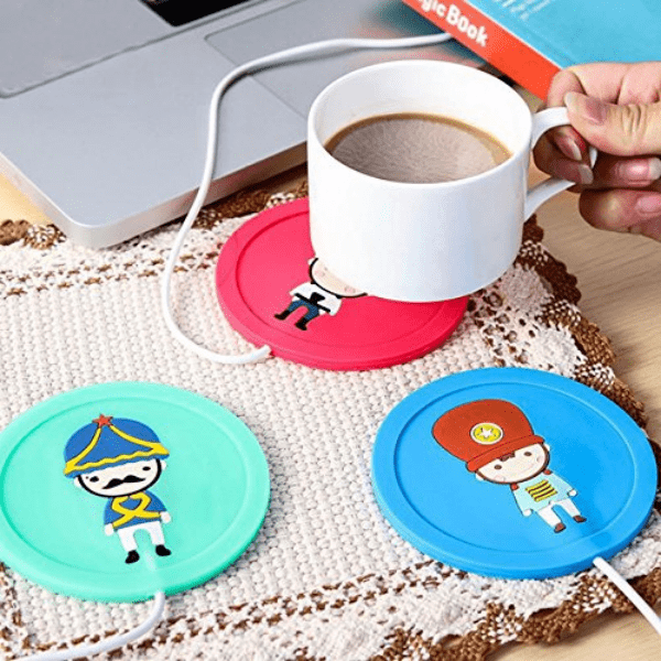 29. USB Warmer Gadget Cartoon for Coffee or Tea-Best to buy things on aliexpress best sellers