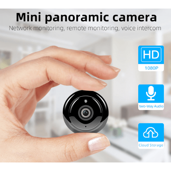 51. 1080P Mini WiFi IP CCTV IR Night Vision Motion Detect Camera-Best to buy things on aliexpress best sellers