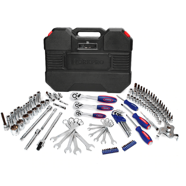 77. Hand Tools Kit for Car (123-Piece Mechanic Tool Set)-Best to buy things on aliexpress best sellers