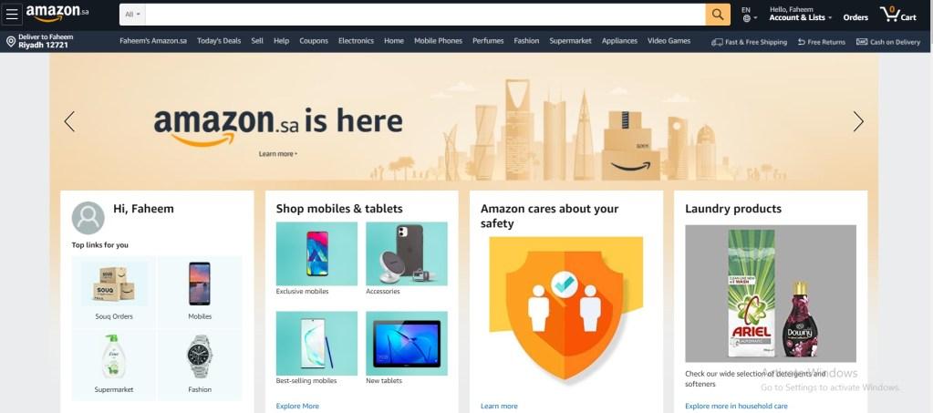 5 Best Online Shopping Websites in Saudi Arabia