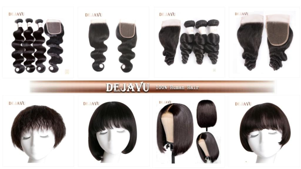 2. DEJAVU-Best Hair Vendors on AliExpress