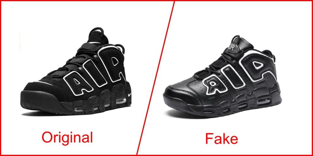 3. Nike Air More Uptempo - Nike Shoes Replica Vs Original