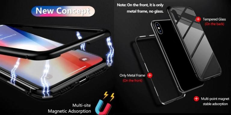 10. GETIHU Metal Magnetic Case For iPhone-aliexpress best sellers