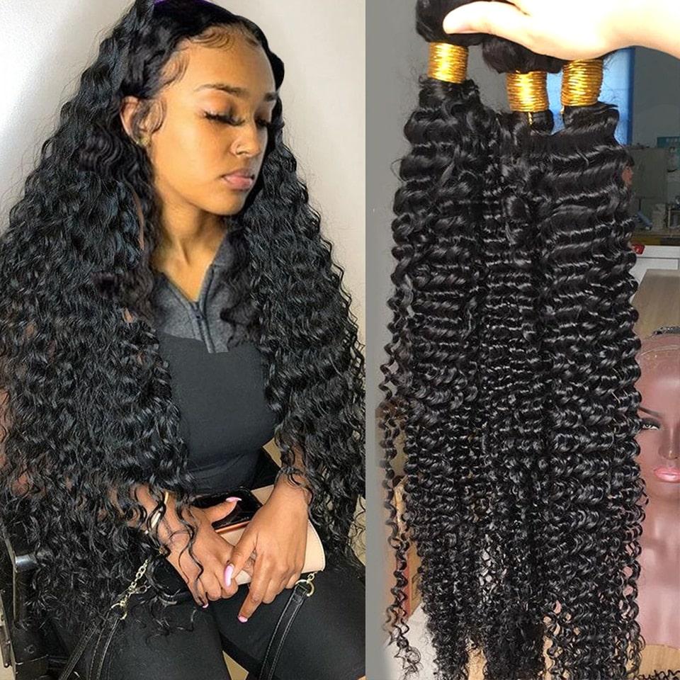 2.1. Fashow Brazilian Curly Remy Hair-Best AliExpress