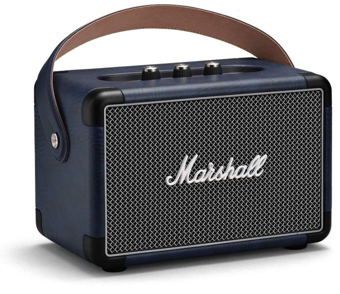 Marshall Kilburn II Portable Bluetooth Speaker (Indigo)