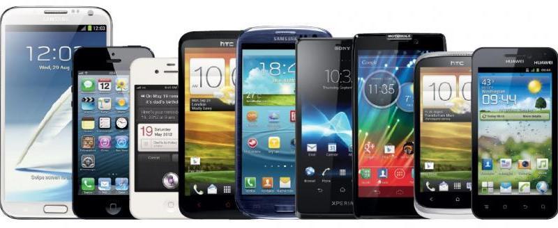 Compare smartphones