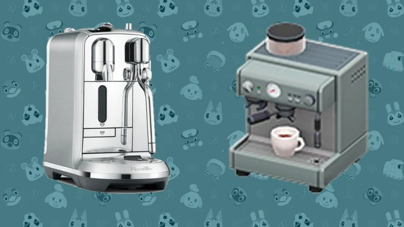 15 best kitchen gadgets that appear in Animal Crossing ... on Animal Crossing Kitchen Counter  id=88589