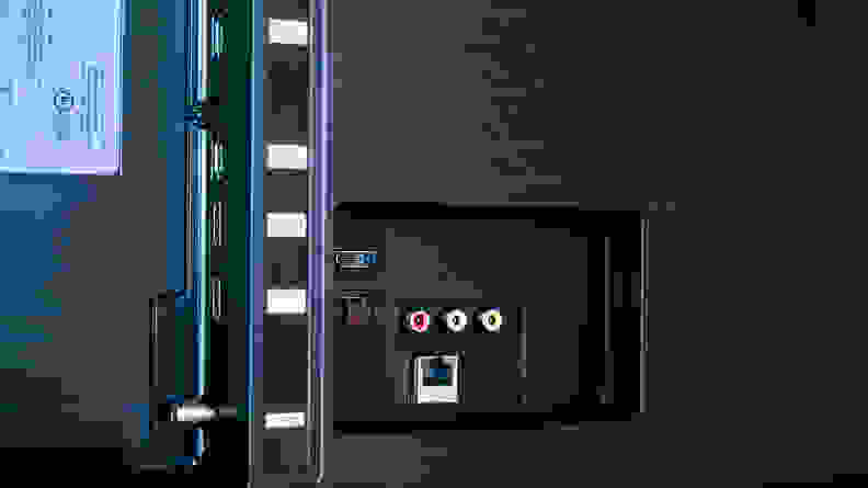 Samsung Q60T Connectivity Inputs 2