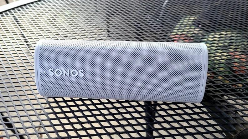 Sonos Roam set on a table