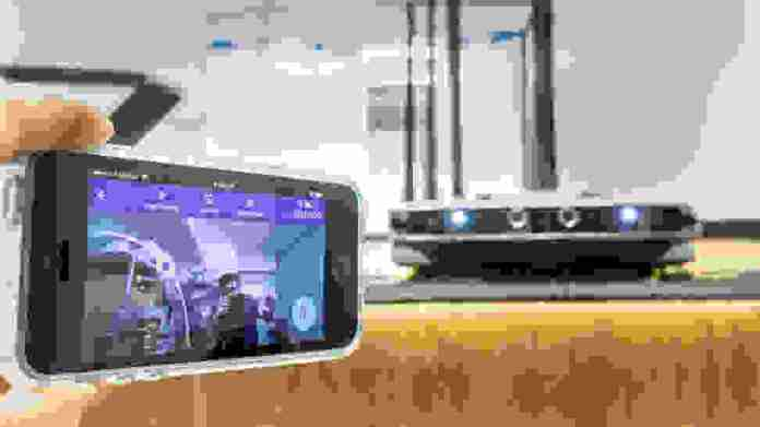 LG Hom-Bot Turbo+ Camera