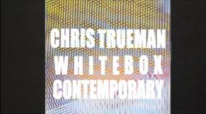 Chris Trueman, LINEAGE, at White Box Contemporary gallery, now showing.