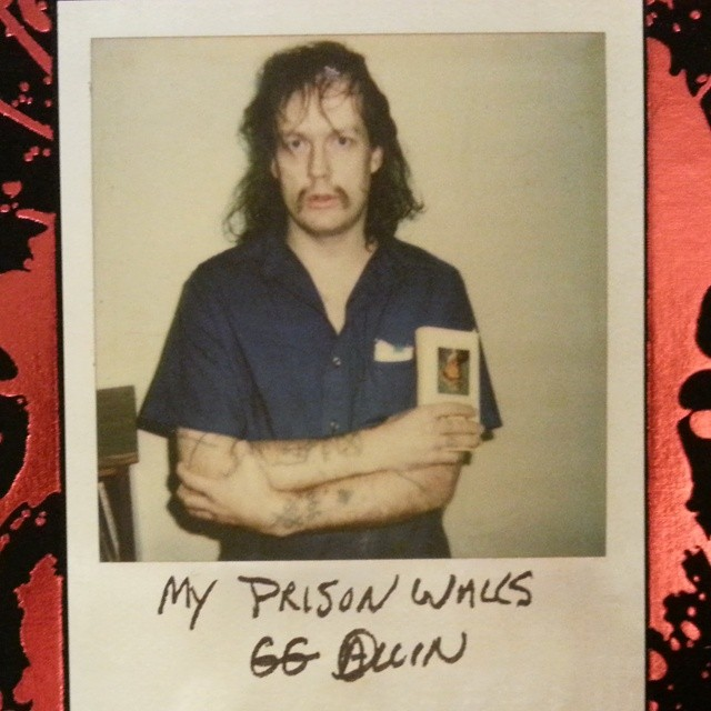 Book Review Gg Allin My Prison Walls 171 Reviewer News Network