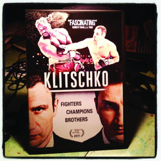 Klitschko documentary dvd, 2011.