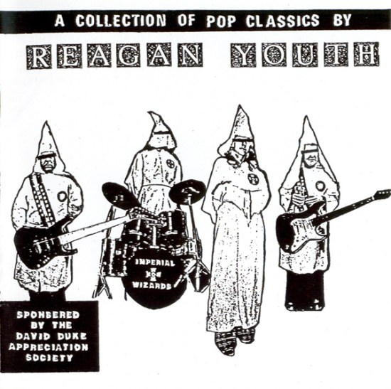 Reagan Youth, A Collection Of Pop Classics cd cover.