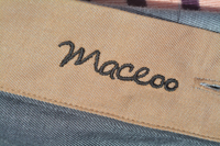 Maceoo label. Photo by ReviewerPhoto.com.