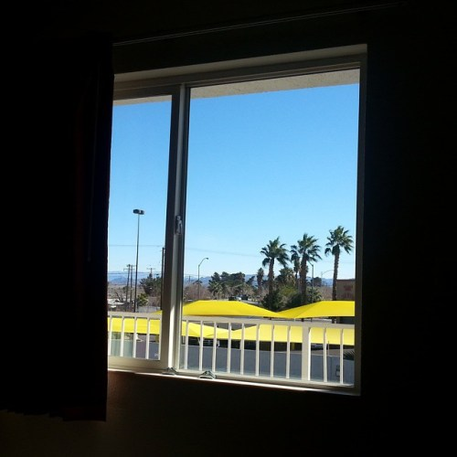 Room without a Strip view, Motel 6 Las Vegas - Boulder Highway.