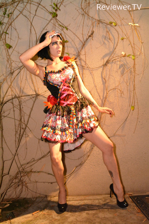 Asphyxia Noir, Studio City, May 2015, on Reviewer TV.