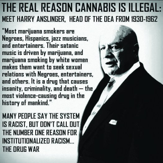 Harry Anslinger, First head of the D.E.A.