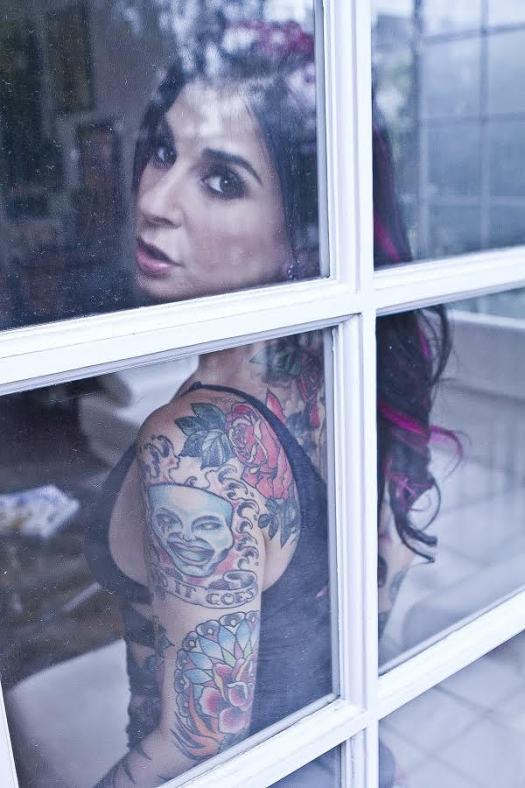 Joanna Angel, on the inside.