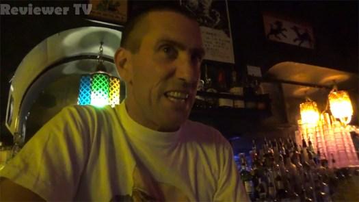 Reviewer TV Sober Ben Johnson interview clip frame.