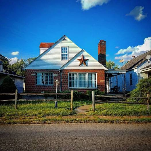 Barn Star, Huntington, West Virginia.