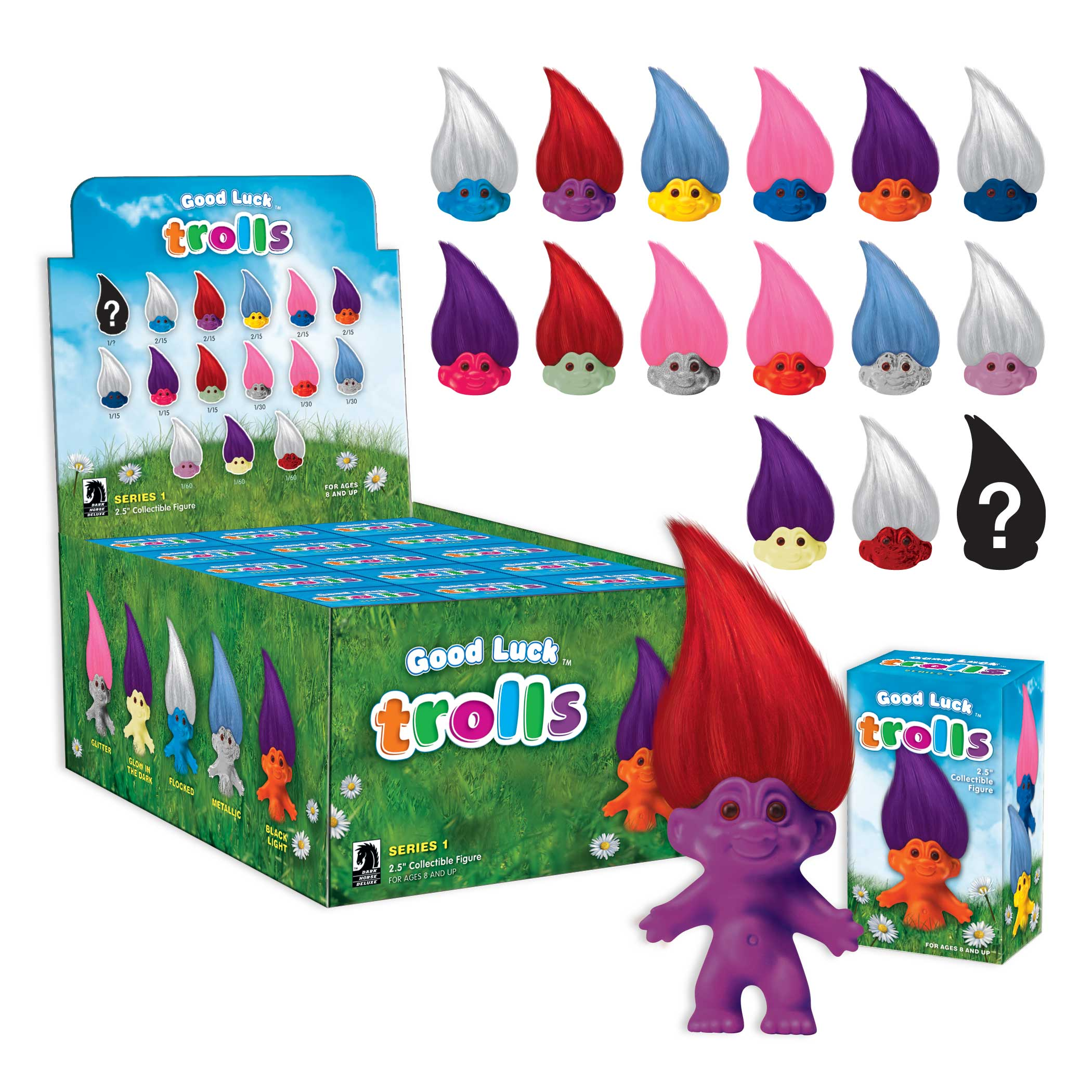 Dark Horse Deluxe Set To Release The First Good Luck Trolls Assortment On July 25 Review Fix