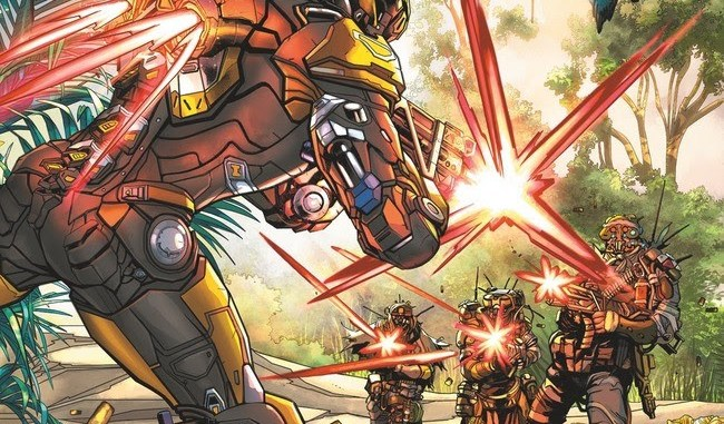 Dark Horse Comics Packs A Punch With The Prequel Series To Anthem