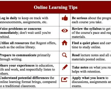 on-line learning-tips