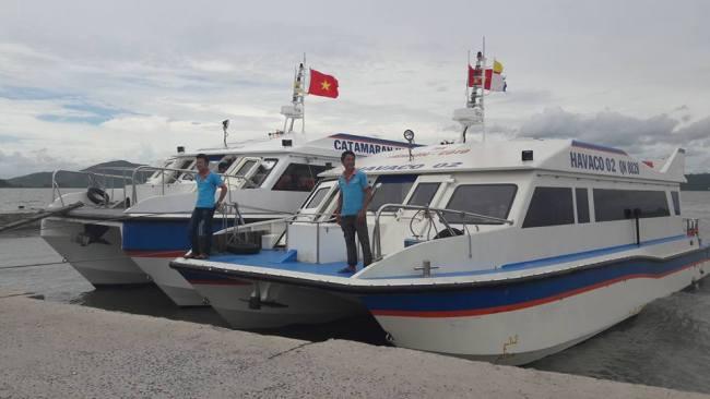 đội tàu cao tốc của công ty havaco