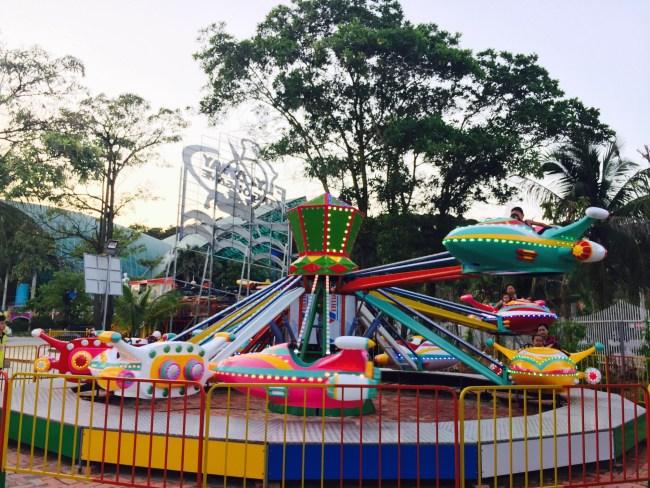 Trò chơi Máy bay ben trong Tuần Châu Park