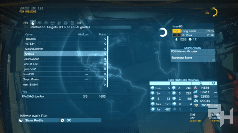 FOB missions are a good way to keep yourself sharp. They can be quite tricky, depending on the player's base security.