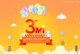 3rd Mi Anniversary Sale