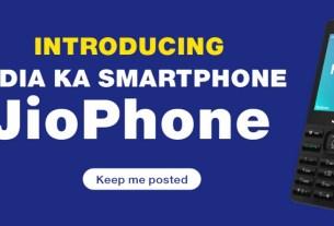 JioPhone Booking