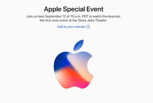 Apple iPhone 8 Launch