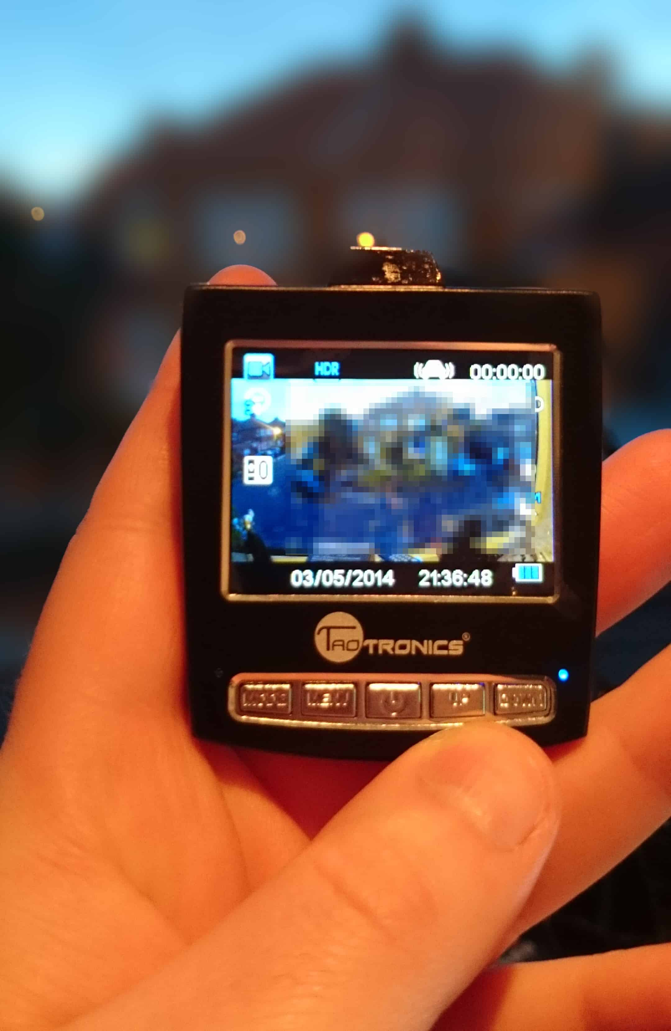 TaoTronics TT-CD04 Car Camera Review